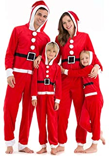 Zipster Santa Claus Womens Adult Christmas Costume Jumpsuit-S//M