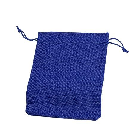 fa0599036 NBEADS 50Pcs Bolsas de arpillera con Bolsa de Regalo con cordón Bolsas para  el Banquete de
