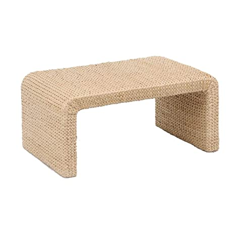 Desk Xiaolin Po Grass Rattan Coffee Table Compiled Coffee