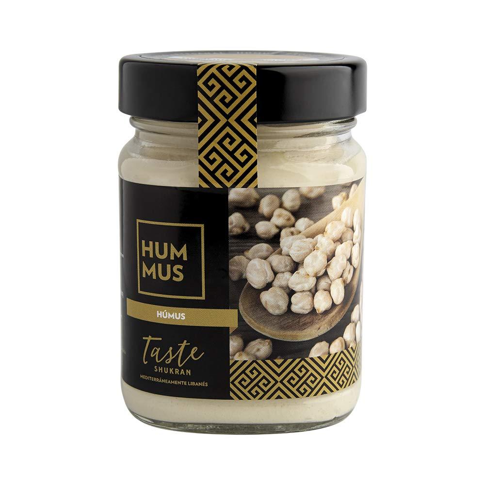 Taste Shukran, Hummus para untar y dipear (Tradicional) - 6 de 225 gr. (Total 1350 gr.): Amazon.es: Alimentación y bebidas