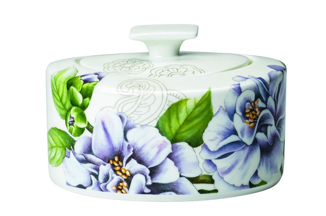 Multi-Colour Porcelain 13 x 10 x 8 cm Villeroy /& Boch Quinsai Garden Sugar//jampot 6pers 0.33l