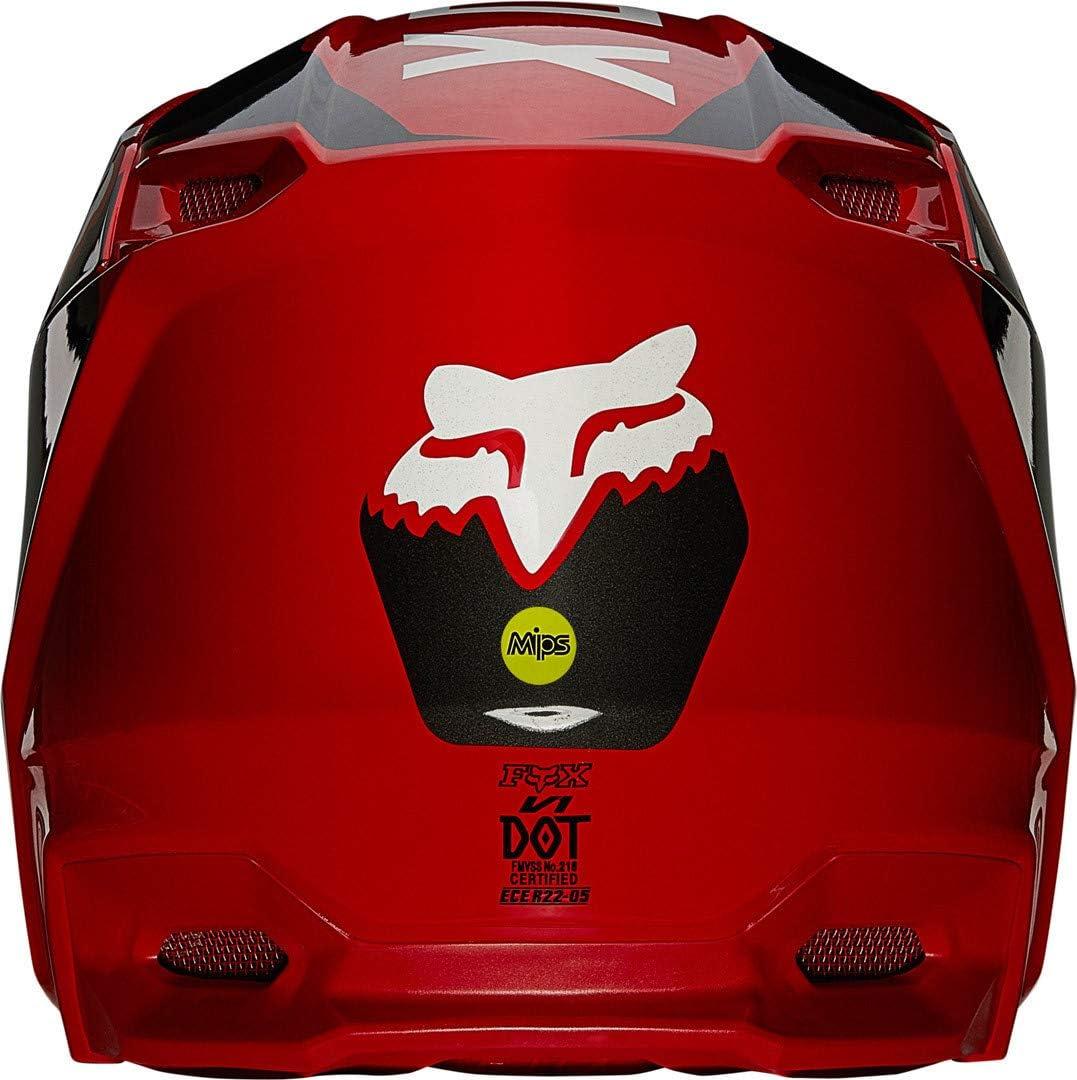 Fox V1 Revn Helmet Red S