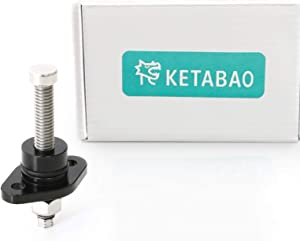 KETABAO Black Billet Cam Chain Tensioner Adjuster For Kawasaki Ninja 650R 2006-2016 2007 2008 2009 2010