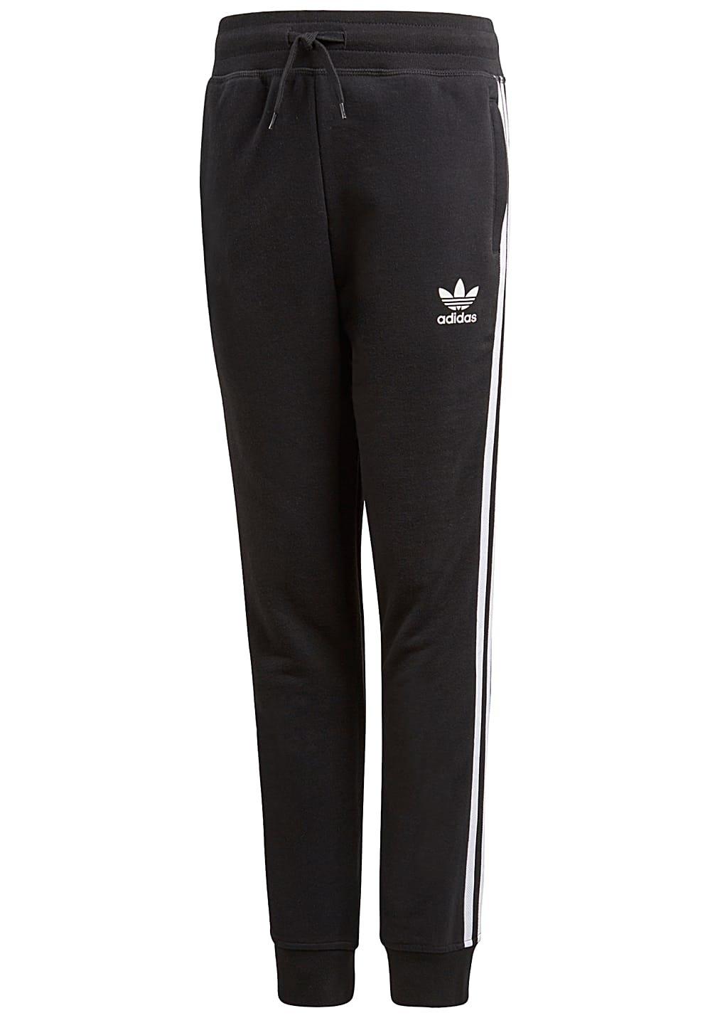 Adidas J TRF ft Pants–Pantaloni, Bambino, Nero ( CV8515