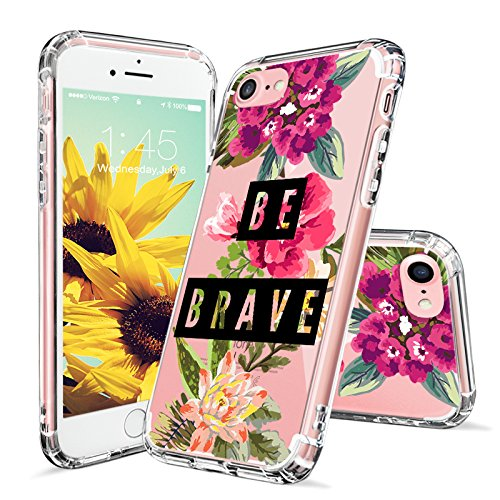 iPhone 7 Case, iPhone 7 Case for Women, MOSNOVO Cute Floral Flower...