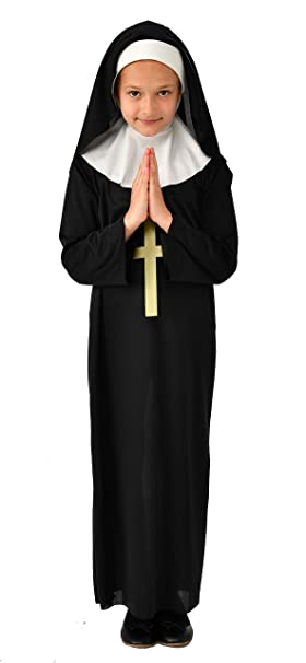 Amazon.com: Rubies Disfraz completo de monja para niños ...