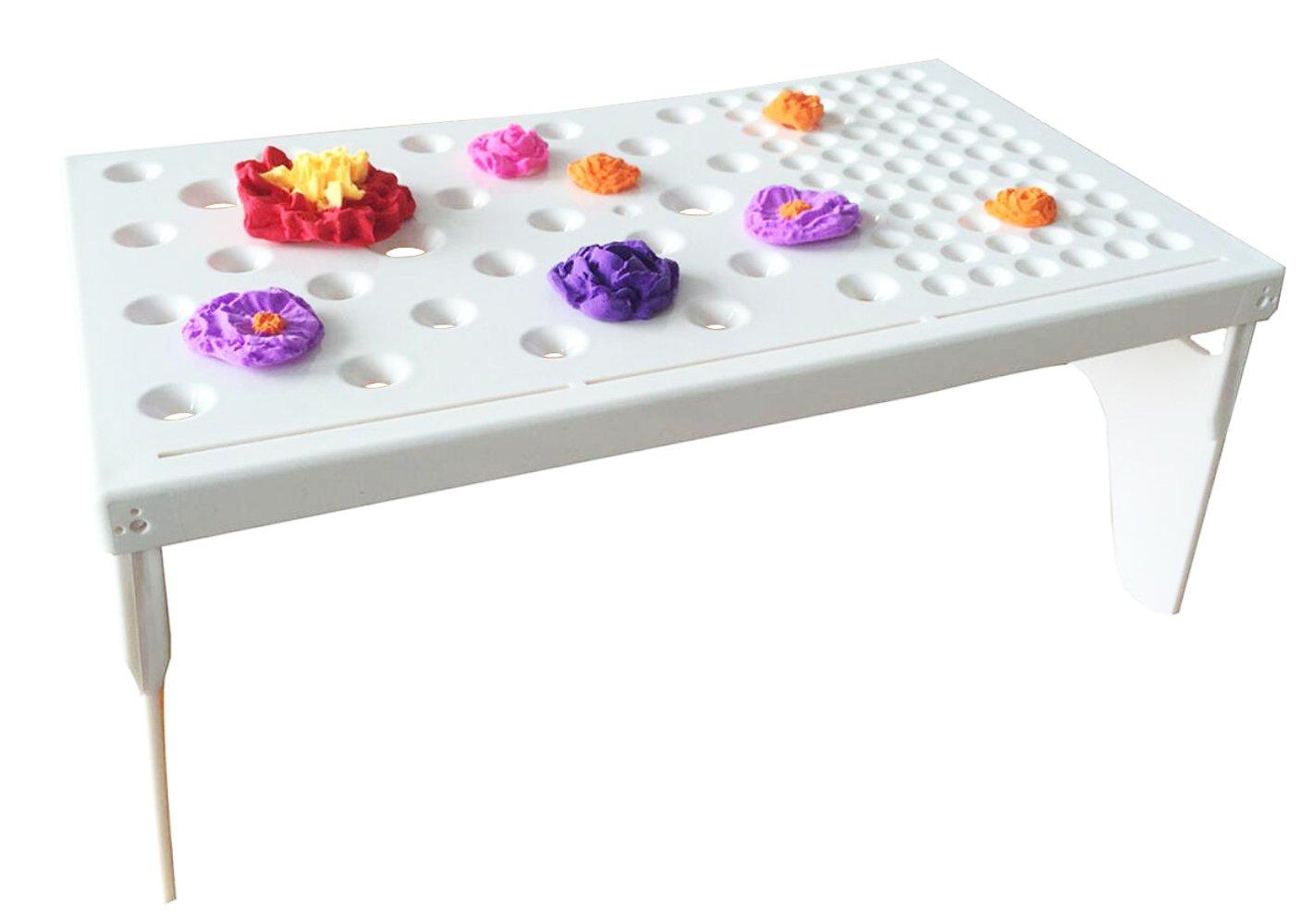 Fondant Drying Moulds Mat Table, Fondant Forming Cups Flower Drying Moulds Flower Cup Holder Cake Decorating Tools