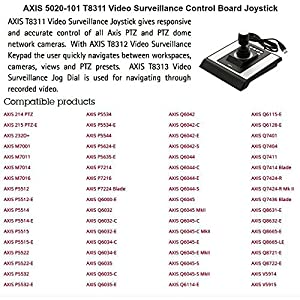 AXIS T8311 Surveillance Control Panel by Axis