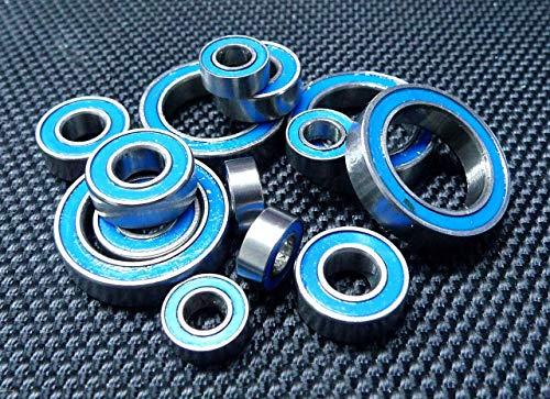 FidgetGear [Blue Rubber Sealed Ball Bearing Bearings Half 8 Mini Inferno ST