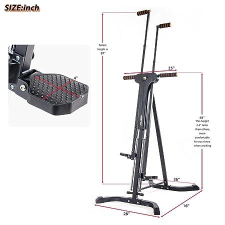 Amazon.com: Merax, máquina para escalar, ejercicios ...