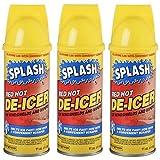 Splash Red Hot De-icer Aerosol Spray, 11 Ounces (Pack of 3)