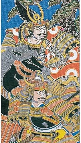 [大畑の武者絵幟][節句のぼり][武者絵のぼり]加藤清正[6.3m]24号[ポール別売][日本の伝統文化][五月人形]