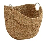 Deco 79 49044 Modern Brown Seagrass Basket With Handles 19″ X 21″ Review