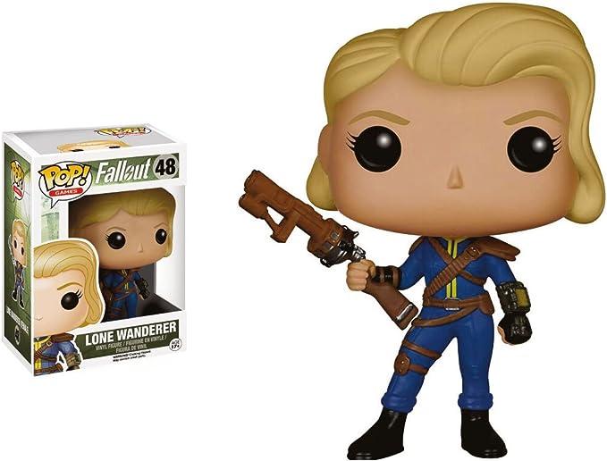 Fallout Figura Pop Lone Wanderer Chica: Amazon.es: Juguetes y juegos