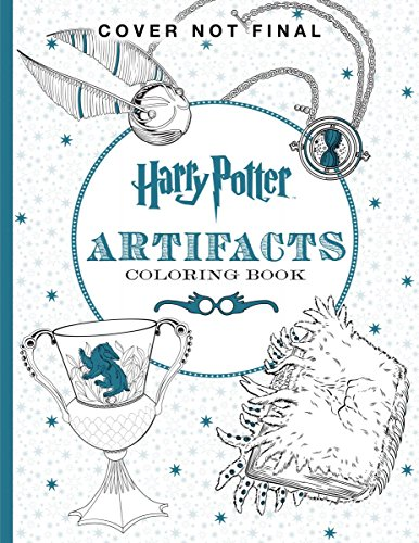 Harry Potter Artifacts Coloring Book – HPB