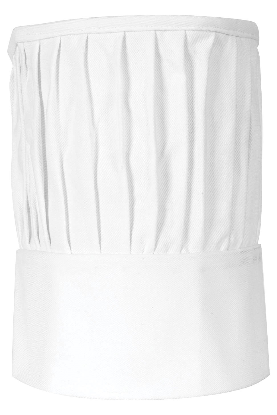 Gourmet Classics Adjustable Chef Toque Blanche, Adult Size, 100-Percent Cotton 02827