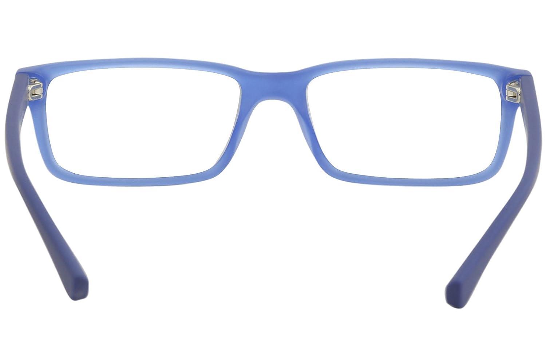 b42982ceb766 Armani EA3061 Eyeglass Frames 5392-53 - Top Black matte Blue at Amazon  Men s Clothing store