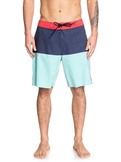 "9772692234 Quiksilver Mens Highline Division Pro 19"" - Board Shorts for Men  Boardshorts ..."