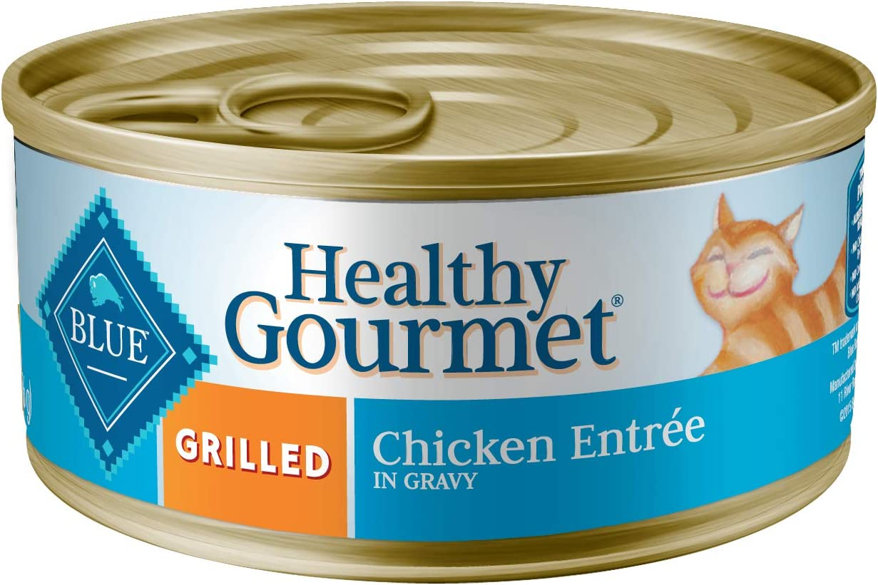 Blue Buffalo Healthy Gourmet Natural Adult Grilled Wet Cat Food