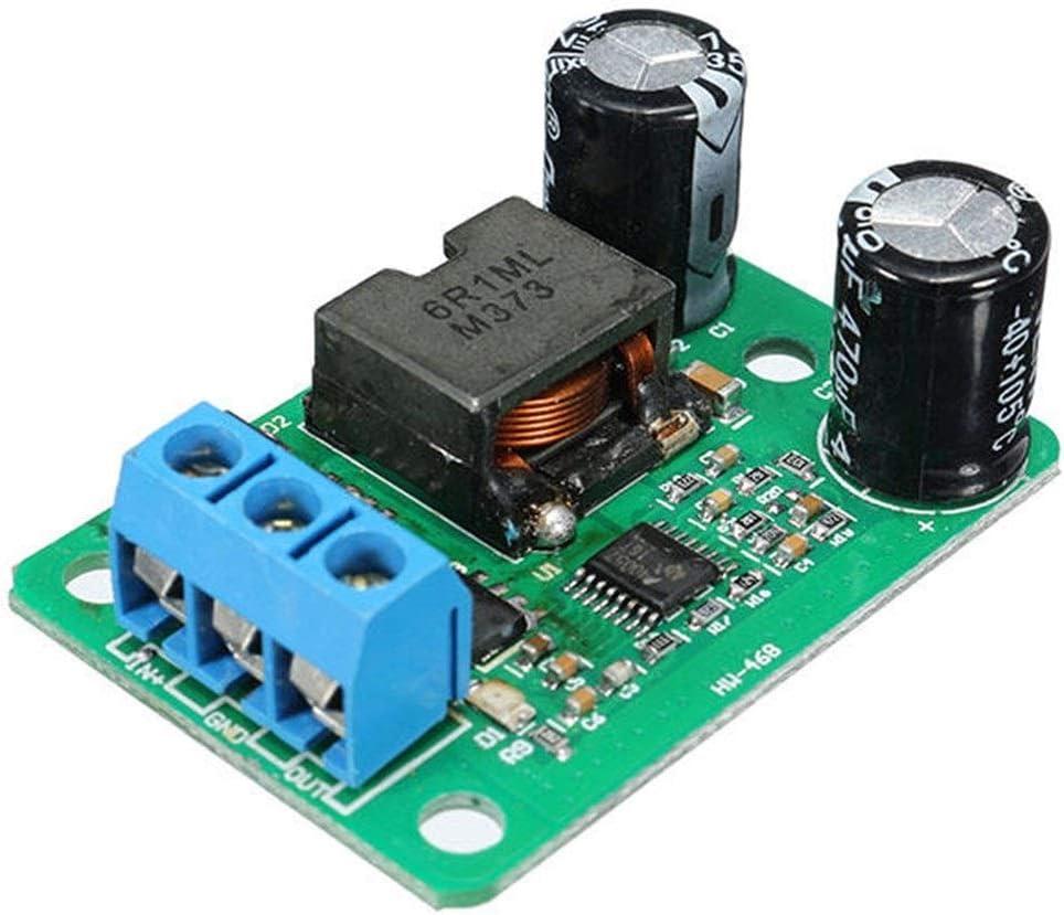 Voltios Transformador de alimentación La rectificación síncrona del convertidor de energía DC-DC 24V / 12V a 5V 5A 25W Voltaje de entrada 9-35V Buck bajada módulo de alimentación Módulo de alimentac