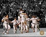 San Francisco Giants 2010 World Series Celebration Spotlight Photo 8x10