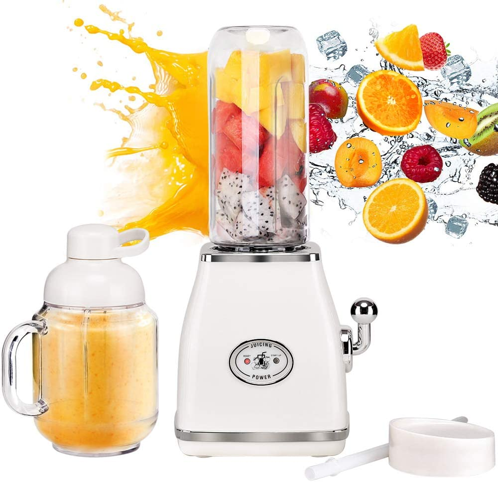 Itslife Batidora de Mano Smoothie Make 250W Mini Batidora 600ml ...