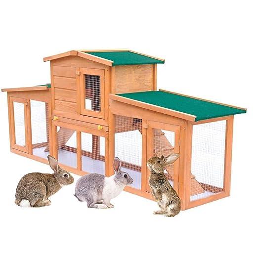 Retrome Jaula Grande para Conejos, Jaula para Conejos, Jaula para ...
