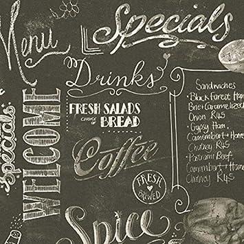 Papel pintado con letras locale Inglés blancas sobre fondo ...