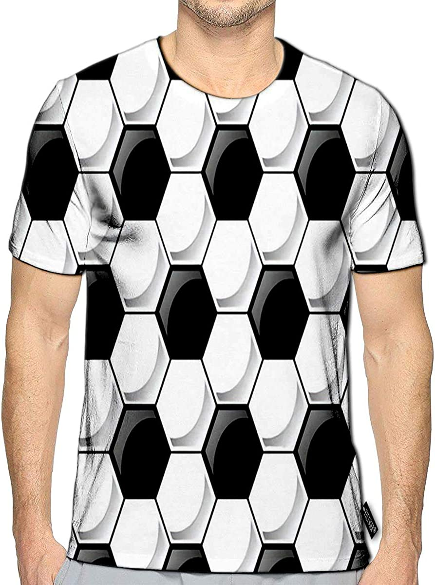 YILINGER 3D Printed T-Shirts Get Lost Find Yourself Short Sleeve Tops Tees