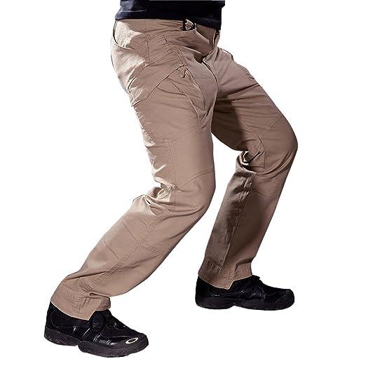 3 opinioni per Reebow Gear Pantaloni tattici militari, da uomo, senza cintura, per