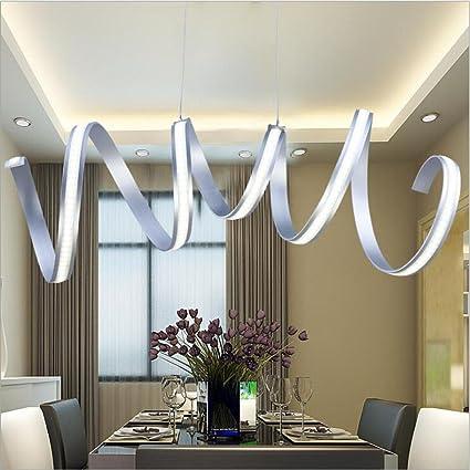 Office pendant light Led Stick Image Unavailable Amazoncom Amazoncom Weiwei Weid Modern Simple Led Pendant Light Restaurant