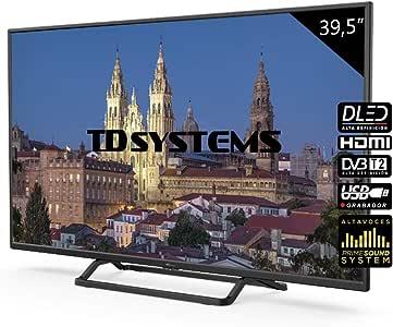 Television 39,5 Pulgadas, 3X HDMI, VGA, USB, 1100 PCI Hz, Grabador ...