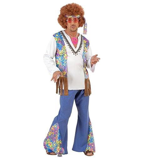 WIDMANN - Hippie Woodstock Costume da Figlio dei Fiori 17c569259dd