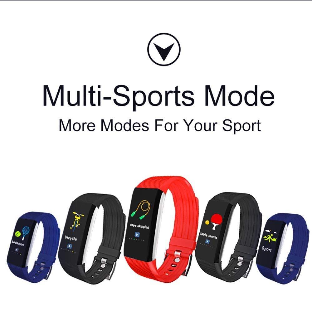 Amazon.com: Smart Wristband CZJJ Heart Rate Monitor ...