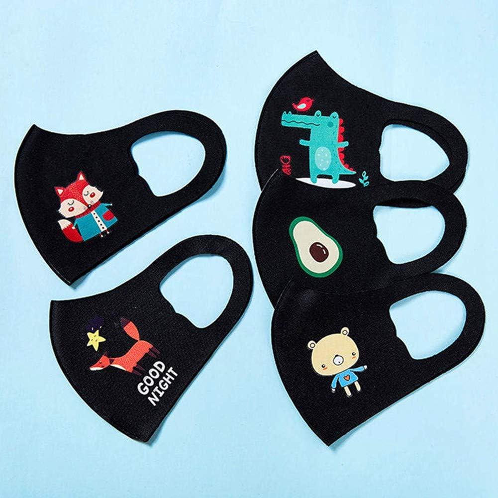 Arriva tra Circa 7 Giorni hicloud 5pcs mas-chera per Bambini mas-chera Protettiva in Cotone mas-chera Colorata per Bambini mas-chera per Bambini Consegnato dallItalia