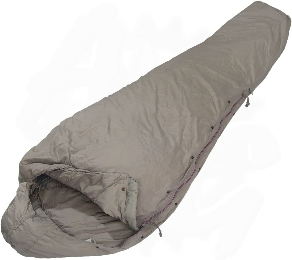Patrol Sleeping Bag Foliage Green Grey