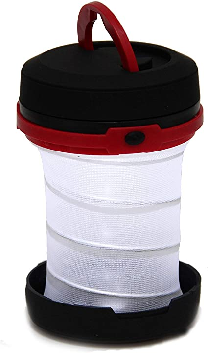 Wealers Super Bright Fordable Portable Camping Flashlight Tent Emergency Light, Lantern Red Flashlight . Hiking 100/%-50/%-flashing Camping For with 3 Different Brightness Modes
