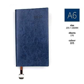 YWHY Cuaderno 2019 Cuaderno De Trabajo A6 Cuaderno ...