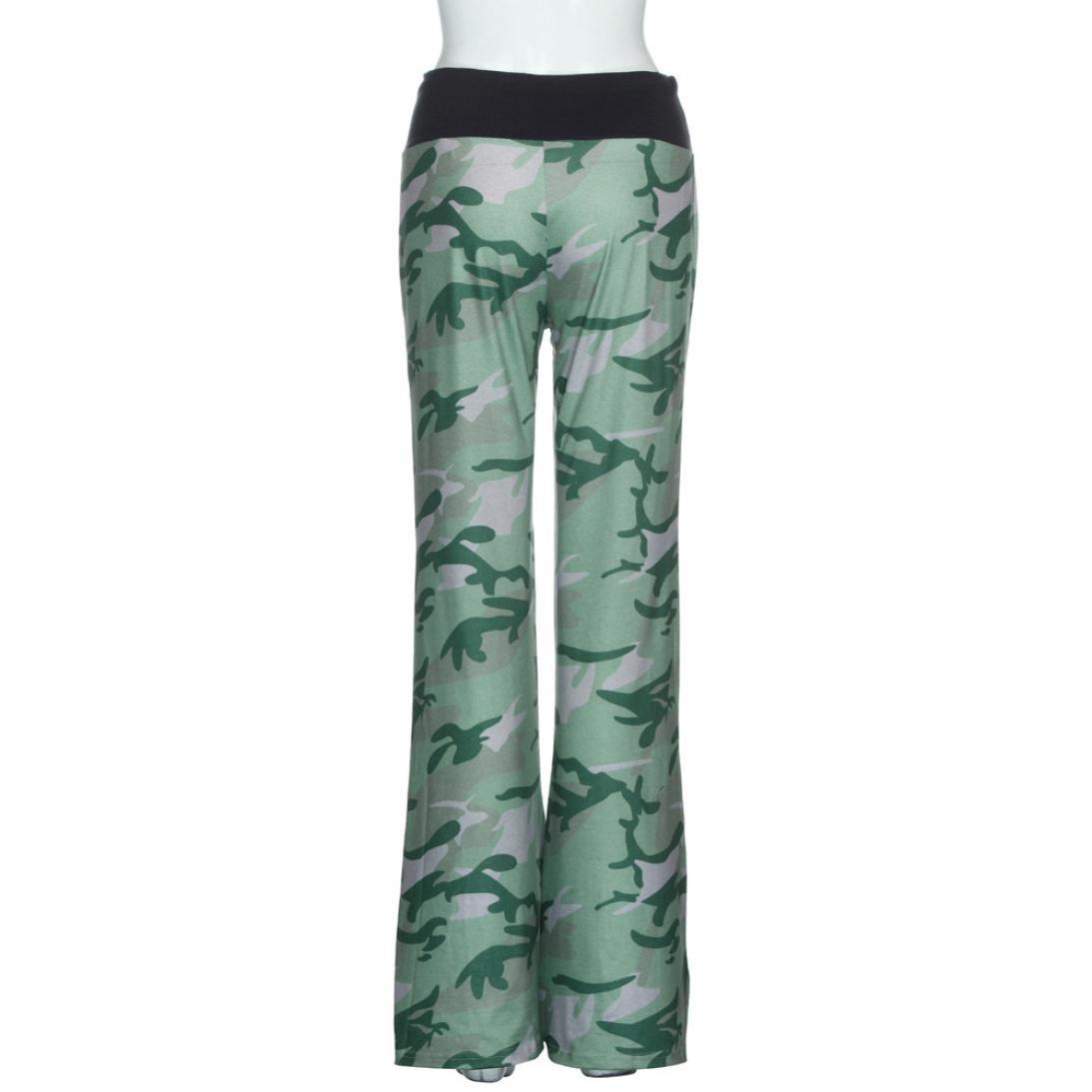 TM 2017 Women Casual Loose American Flag Drawstring Wide Leg Pants Leggings Trousers Elevin