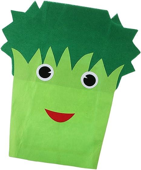 Traje Disfraz Verde Verdura Diseño Sin Tejida Actuación Bosque Atuendo Frutas Tema Escolar Disfraces Competencia: Amazon.es: Juguetes y juegos