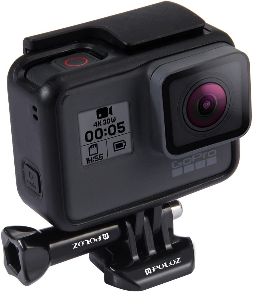 GoPro New Hero //HERO7 //6//5 //5 Session //4 Session //4//3 //3//2 //1 Hsifeng Horizontal Surface Quick Release Buckle for DJI New Action Xiaoyi and Other Action Cameras Hsifeng