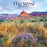 The West 2021 12 x 12 Inch Monthly Square Wall Calendar, USA United States of America Scenic Nature