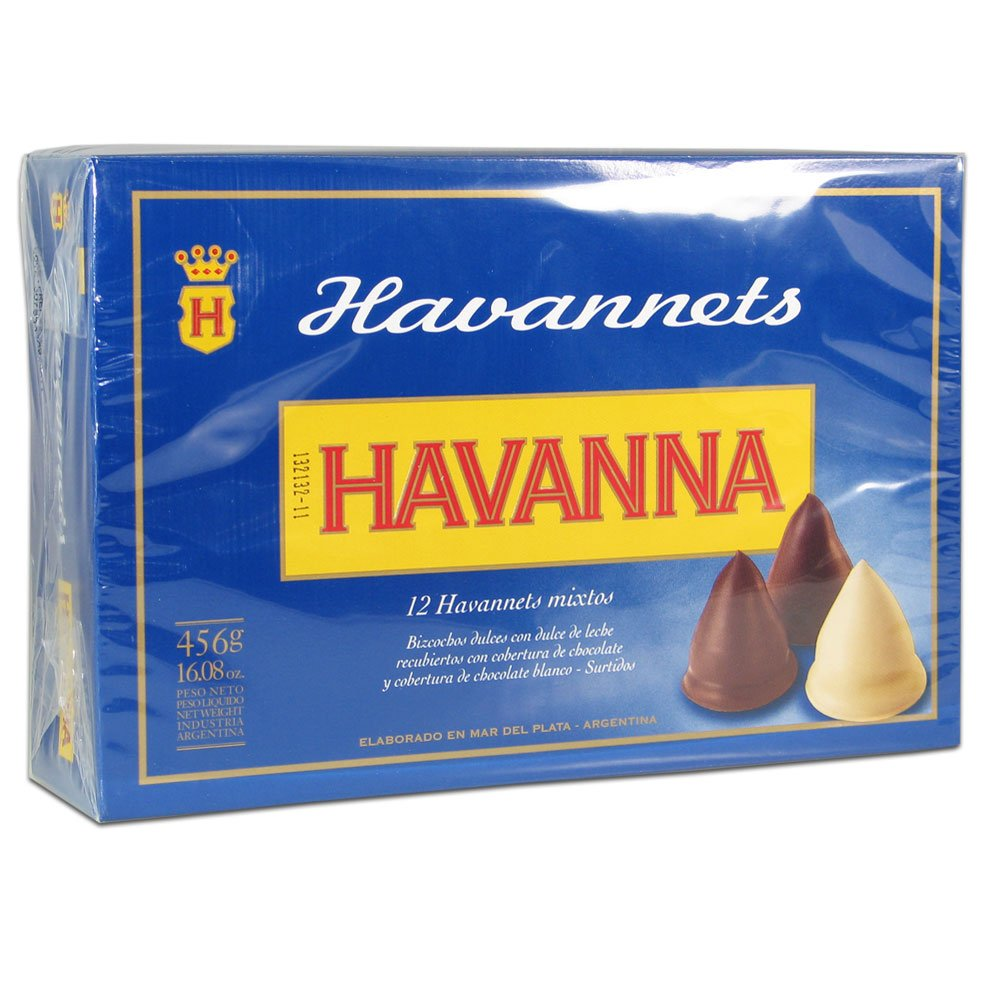 Amazon.com: Havannets by Havanna Luxury Dulce de Leche Filled Chocolate Cones x 12 Mixed by Havanna: Health & Personal Care
