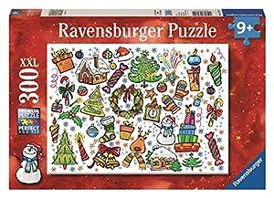 Amazon.com: Ravensburger Christmas Fun! - 300 Piece Christmas ...