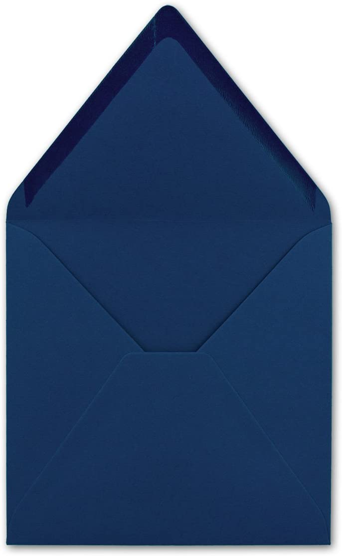 Nassklebung Quadratische Brief-Umschl/äge Farbe Hochweiss 25 St/ück 155 x 155 mm F/ür Einladungen /& Hochzeit! Serie FarbenFroh/®