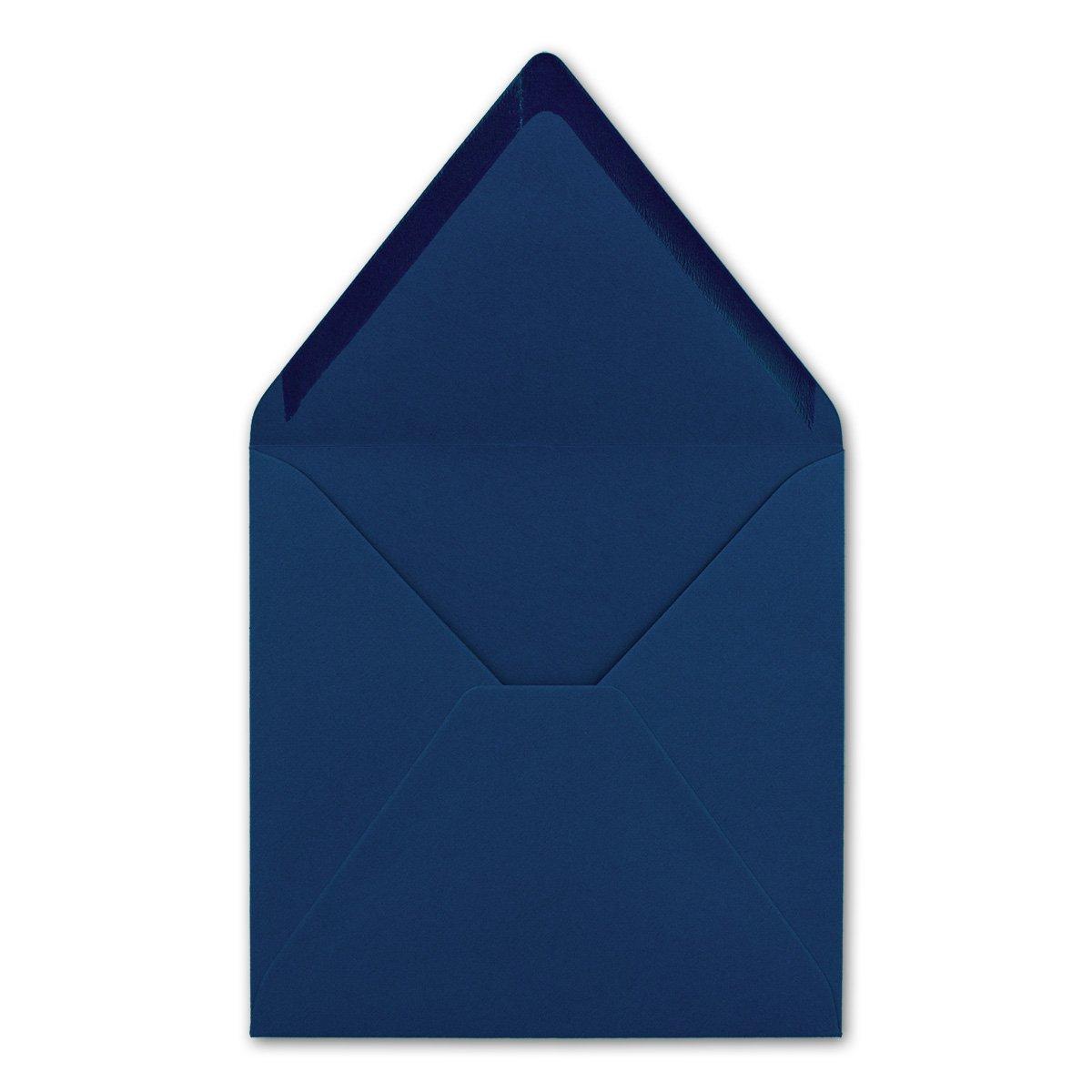 Quadratisches Falt-Karten-Set I 15 x 15 cm cm cm - mit Brief-Umschlägen & Einlege-Blätter I Royalblau I 75 Stück I KomplettpaketI Qualitätsmarke  FarbenFroh® von GUSTAV NEUSER® B00KGAIQ0U    Neuer Markt  a711a4