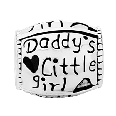 Pugster Charm Schmuck Daddy S Little Girl Daughter 925