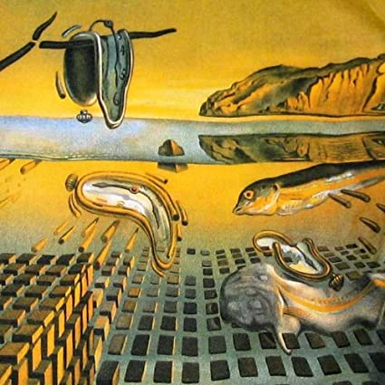 Amazon com : Salvador Dali Print 'The Disintegration of the
