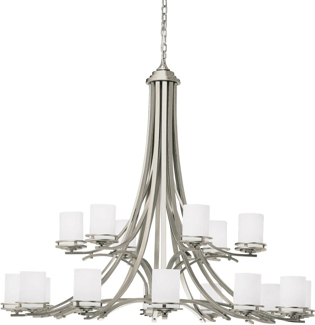 Kichler 1873NI Chandelier 18-Light, Brushed Nickel