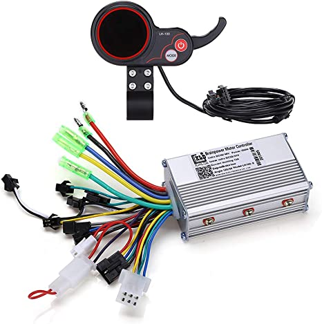 Amazon.com: WonVon Motor controlador sin escobillas, 36 V 48 ...